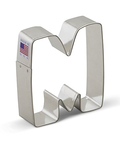 3 inch letter cookie cutters - 6