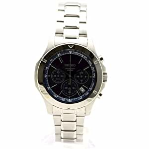 Seiko Stainless Steel Chronograph with Date Men's watch #SSB103