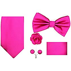 Oliver George 5pc Box Set (Solid-Fuchsia Pink-O)