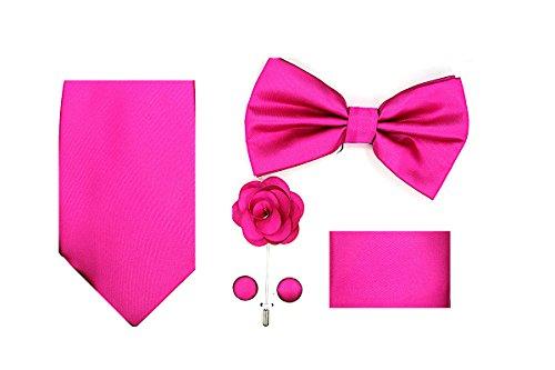 Oliver George 5pc Box Set (Solid-Fuchsia Pink-O)