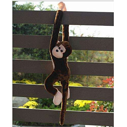 callm 54cm Monkey Toys Plush Toy Cute Screech Monkey Sound Cat Puppy Plush Funny Toys Soft Stuffed Dolls Kids Xmas Gift Soft Dolls Kid Toys for Kids and Adults (Coffee) ()