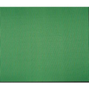 - SOLID GREEN CORRUGATED PAPER AWNING