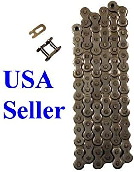#420 Drive Chain  with Master Link for Coleman KT196 Hisun HS200GK Go-Kart