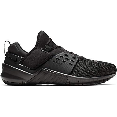 Nike Men's Free Metcon 2 Training Shoes, Black/Black, Size 12