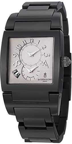 de-Grisogono-Instrumento-No-UNO-Black-PVD-Grey-Dial-Dual-Time-Automatic-Watch-UNO-DF-N05B
