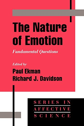 The Nature of Emotion: Fundamental Questions (Series in Affective Science)