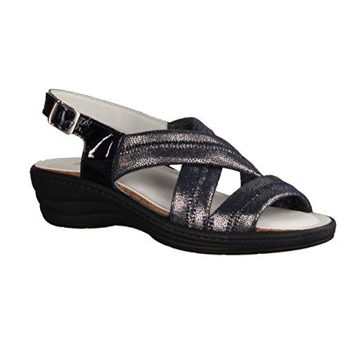 SLOWLIES Women's Fashion Sandals blue blue