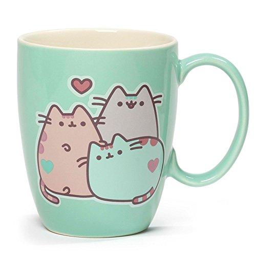 Price comparison product image Gund Pusheen The Cat Pastel Stoneware Mug,  12 oz