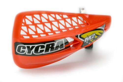 Cycra M-2 Recoil Vented Racer Pack Orange (Vented Pack Handguard Racer)