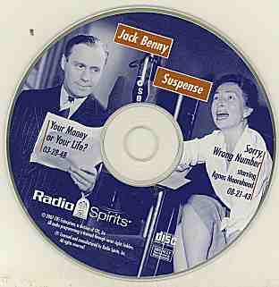 Jack Benny Suspense: Two Radio Shows (Your Money or Your Life 3/28/48 & Sorry, Wrong Number, 8/21/43)