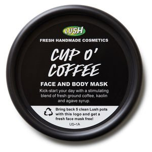 Cup O' Coffee Face and Body Mask 11.4 oz by LUSH