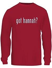 got hannah? - A Nice Men's Long Sleeve T-Shirt Shirt