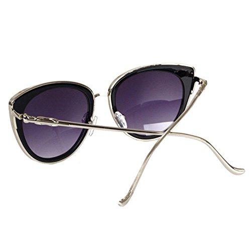 ... Aoligei Dames de lunettes de soleil et lunettes de soleil visage mince  lunettes fashion Street E 6dc6b40613d1