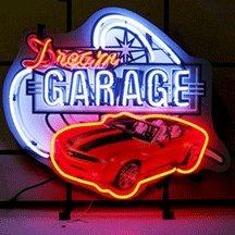 Neonetics 5DGCAM Car and Motorcycles Dream Garage Camaro Neon Sign - Motorcycles Neon Clock