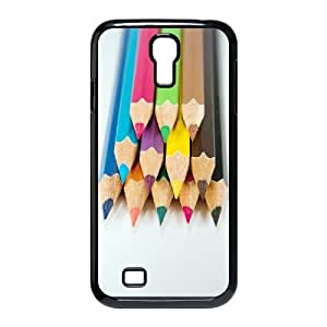 ALICASE Colored Pencil Diy Case Shell Cover For Samsung Galaxy S4 i9500 [Pattern-1]