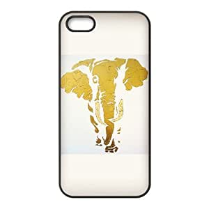 Elephant Hard Snap Phone Case Cover For Iphone 5,5S Case HSL398698