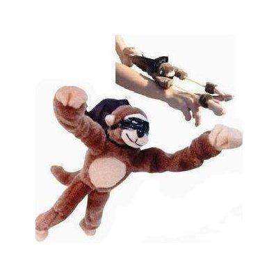 (2dz (24pc) Slingshot Flingshot Flying Monkeys with Sound Toy )