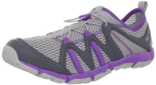 Helly Hansen Women's Aquapace Boat Shoe,Light Grey/Mid Grey/Powder Purple,8.5 M US