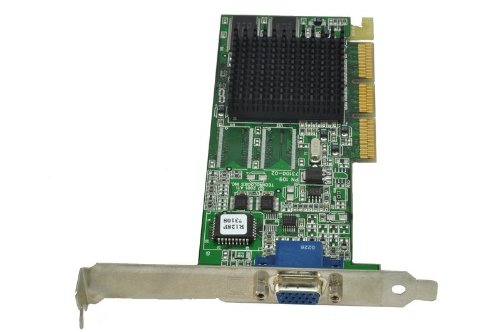 ATI Rage 128 Ultra 16MB AGP VGA Video Graphics Card Dell 7K113 Ati Agp Video Cards