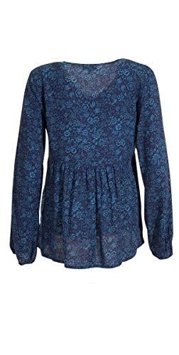 Coline Manches Blouse Longues Marine Ample aXqavPwEr