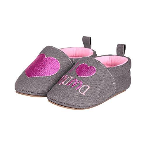 Sterntaler Baby-krabbelschuh - Zapatillas de casa Bebé-Niños gris