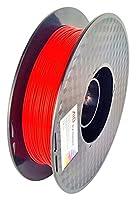 AIO Robotics AIORED PLA 3D Printer Filament, 0.5 kg Spool, Dimensional Accuracy +/- 0.02 mm, 1.75 mm, Red by AIO Robotics