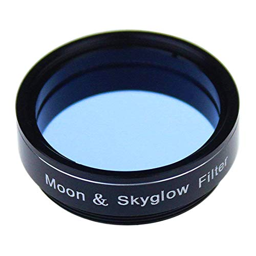 1.25 Inch Moon & SkyGlow Filter Light Pollution Filter for Telescope Eyepiece Lens