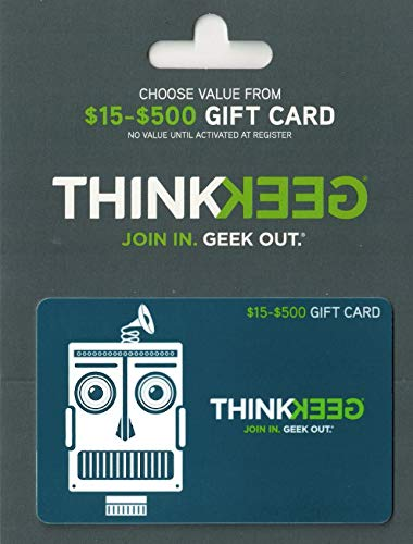 ThinkGeek Gift Card ThinkGeek Gift Card $25