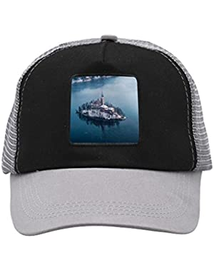 Unisex The Bled Lake Adjustable Classic Hiphop Hat Baseball Cap Snapback Dad Hat