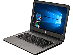 "HP 14"" HD WLED-backlit Laptop - AMD Quad-Core E2-7110 1.8GHz, AMD Radeon R2 Graphics, 4GB RAM, 32eMMC, NO DVD/CD, 802.11bgn, HD Webcam, WLAN, HDMI, Bluetooth, Win 10 (Certified Refurbished)"