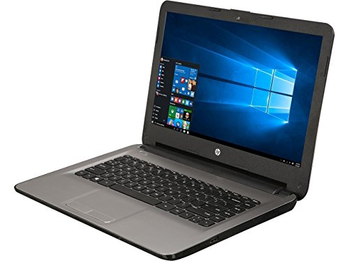 HP 14″ HD WLED-backlit Laptop – AMD Quad-Core E2-7110 1.8GHz, AMD Radeon R2 Graphics, 4GB RAM, 32eMMC, NO DVD/CD, 802.11bgn, HD Webcam, WLAN, HDMI, Bluetooth, Win 10 (Certified Refurbished)