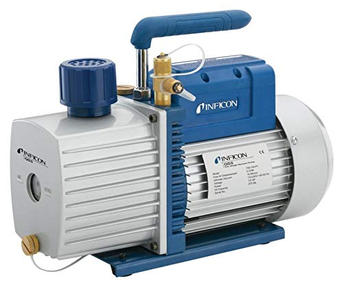 INFICON 700-100-P1 Model QS5 Vacuum Pump, 5 CFM Air Displacement, 110V/220V