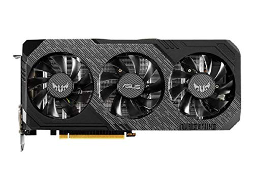 ASUS NVIDIA GeForce GTX 1660 Super TUF X3 OC 6G Gaming Grafikkarte (6GB DDR6 Speicher, HDMI, DVI, DIsplayPort, PCIe 3.0, IP5X)