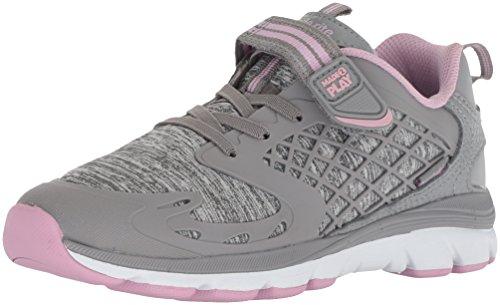 Stride Rite Mesh Sneakers - Stride Rite Girls' M2P Cannan Sneaker, Silver/Mauve, 10 M US Toddler