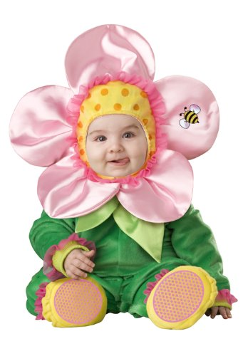 InCharacter Baby Blossom Infant/Toddler Costume-2T Pink