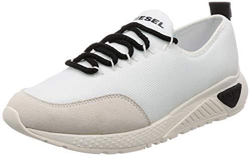Diesel Men's SKB S-KBY Sneaker, Star White, 10 M US
