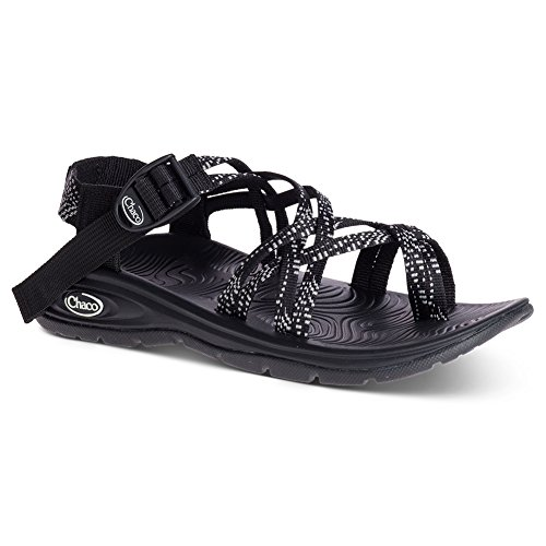 Chaco Damen Zvolv X2 Athletic Sandale Strich schwarz