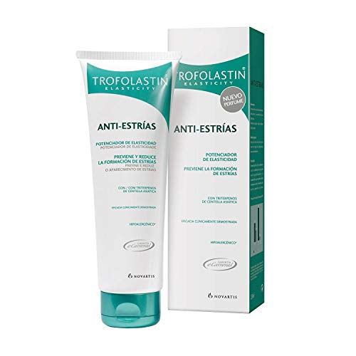Trofolastin Anti-Stretch Marks 100ml - Body Cosmetics - Cream With Centella Asiatica Extract - Stimulates Skin's Natural Elasticity And Firmness - Fast Results - All Skin Types