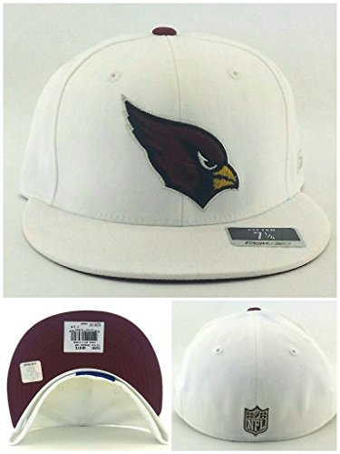Era Satin Hat - Arizona Cardinals New Reebok Silver Satin Fashion White Red Era Fitted Hat Cap 7 1/4