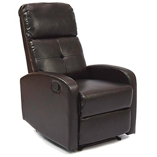 Best Choice Products Furniture Home Theater PU Leather Recliner (Large Image)
