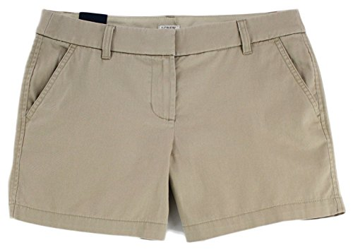 J. Crew - Women's - 5'' Chino Shorts (10, British Khaki) by J.Crew Mercantile