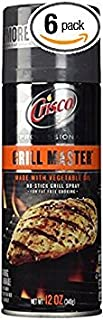 product image for Crisco Professional Grill Master No Stick Grill Spray 12oz Can (Pack of 6)