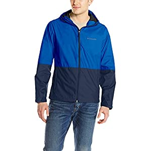 Columbia Men's Roan Mountain Jacket, Azul, Collegiate Navy, L