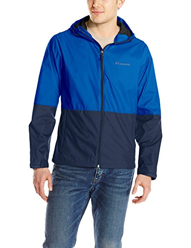 - Columbia Men's Roan Mountain Jacket, Azul, Collegiate Navy, L