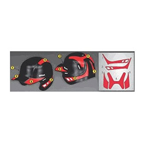 Wilson Custom Helmet Decal Kit (Columbia (Baseball Helmet Decals)