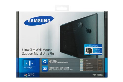 Samsung Ultra Slim WMN3000BX Wall Mount for Flat Panel Displ