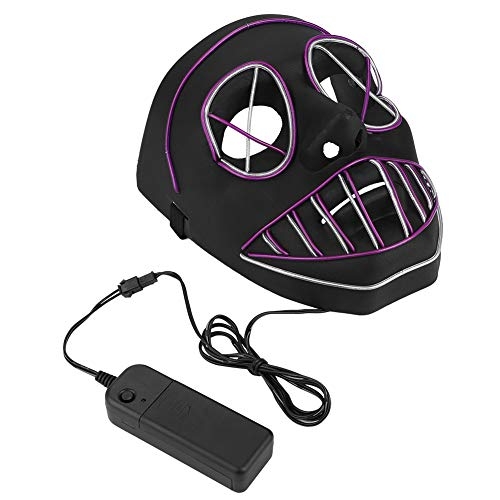 Vic Rattlehead Halloween Costumes - Luminous Mask, LED Glowing Decoration Toy