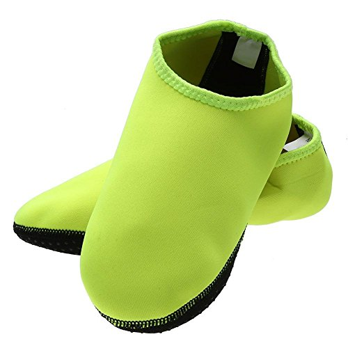 NELNISSA Breathable Non Slip Water Shoes Swimming Diving Beach Sports Aqua Socks (L) 3mfK2CoocP