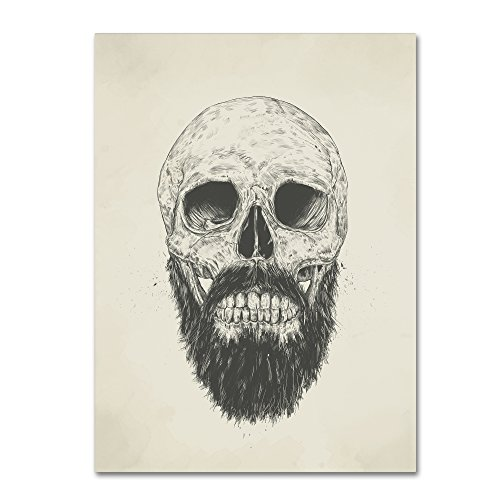 The Beard Is Not Dead by Balazs Solti, 18x24-Inch Canvas Wall Art from Trademark Fine Art