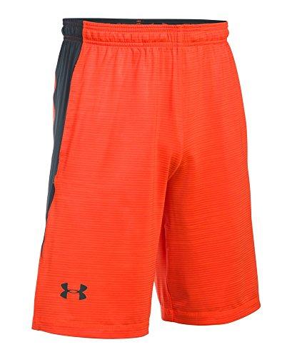 Under Armour Men's UA Raid Novelty Short Phoenix Fire/Stealth Gray Shorts